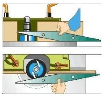 Réglet de toupilleur pour toupie à bois